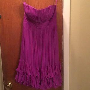 Formal fuchsia dress
